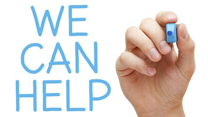 We help you
